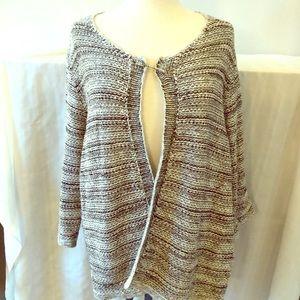 Pure Jill cotton cardigan